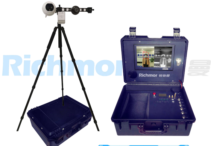 Richmor Infrared Temperature Measurement DVR Suitcase